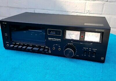Vintage 1980s National Panasonic RS-612US Dolby Stereo Cassette Deck GWO