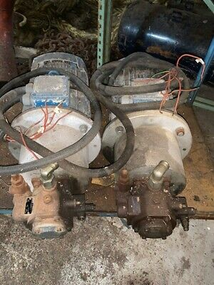 Rexroth Hydraulic Pump / pack driven by 15hp Electric Motor
