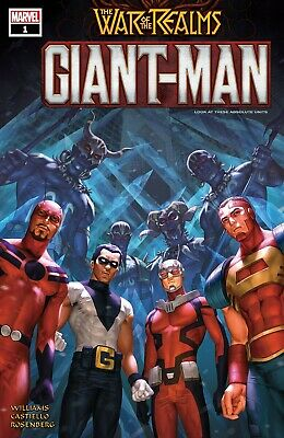War of the Realms: Giant-Man #1 [2019] DIGITAL CODE ONLY Marvel Comics Avengers