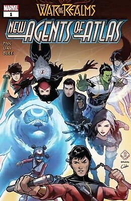 War of the Realms: New Agents of Atlas #1 [2019] - DIGITAL CODE ONLY - Marvel