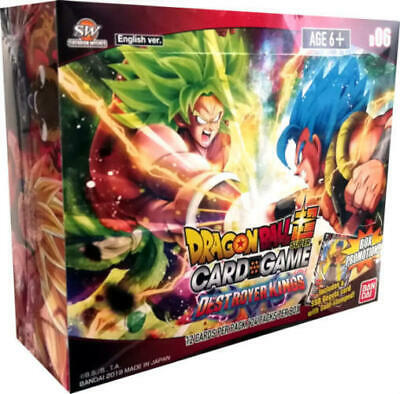 Bandai Dragon Ball Super DBS Destroyer Kings Booster Box NEW & FACTORY SEALED!!