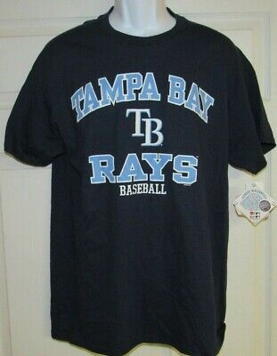 Tampa Bay Rays Men's Cotton MLB Baseball T-shirt New