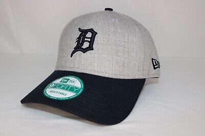 sports shoes 920b1 00774 Detroit Tigers New Era 9Forty MLB The League Heather Adjustable Hat
