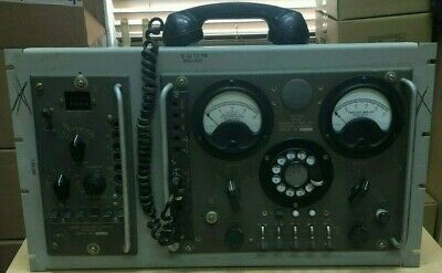 Western Electric Relay Signaling Test Tube Set, Pulse Repeating Adapter, Phone