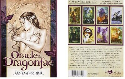Oracle of the Dragonfae by Lucy Cavendish - Preowned in Excellent Cond. Ships FR