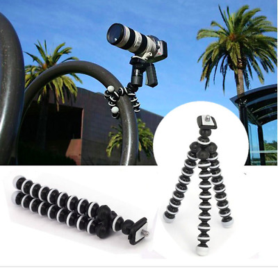 Octopus Flexible Tripod Mount Stand for GoPro Hero 7 6 5 Action Cam Go Pro k91