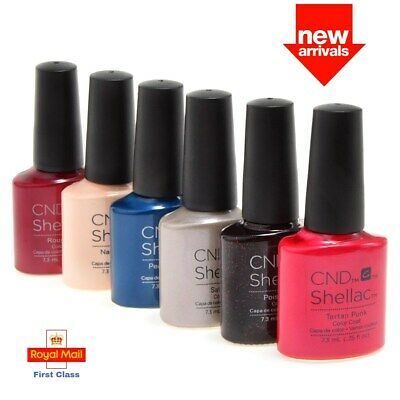 CND Shellac UV Gel Nail Polish Power Varnish Choose Any Colour - 7.3ml