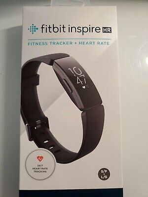 Fitbit Inspire Fitness Tracker - One Size (S & L Bands Included) FACTORY SEALED