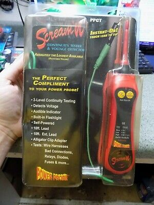 Power Probe Continuity Tester (The Screamer) Ppct