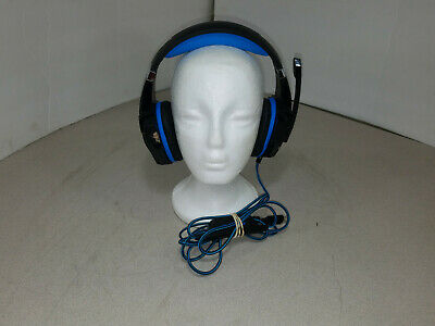 Kotion Each G9000 Gaming Headphones Black/Blue Good Condition Tested Working