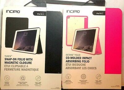 New OEM Incipio Octane Folio Shock Absorption Case for Apple iPad Air 2 - Pink !