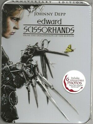 EDWARD SCISSORHANDS  DVD 1990  Full Screen 2005 Anniversary Edition BRAND NEW!!