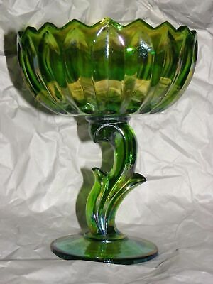 indiana  lotus carnival  pedestal compote