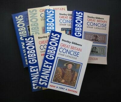 Multi-Listing Stanley Gibbons G.b. Concise Stamp Catalogue 1997-2013