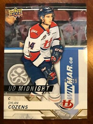 2019 Toronto Spring Expo UD CHL UD Midnight #82 Dylan Cozens /25