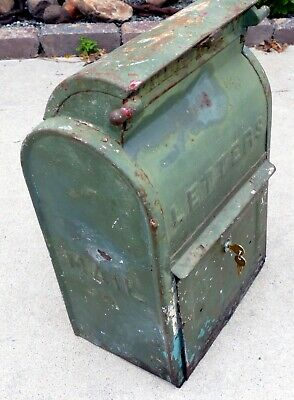 NEW Replacement Lock Cast Iron US Mailbox Letter Mail Box - Danville,Bridgeport