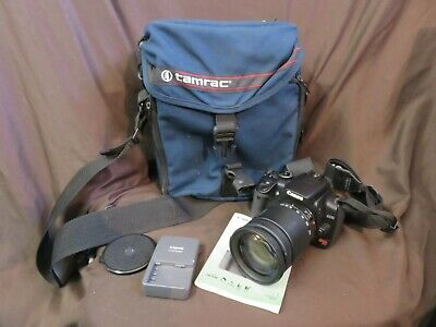 Canon EOS Digital 10.1MP Rebel XTi SLR Camera With Tamron 28x200mm Lens