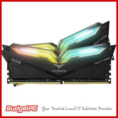 Team T-Force Night Hawk RGB 16GB (2x 8GB) DDR4 3200MHz Memory - Black