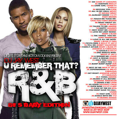 U Remember That? R&B 80's Baby Edition Mix CD