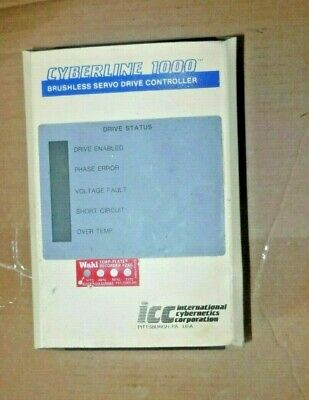 Icc Cl112 Brushless Servo Drive Controller Cyberline 1000,Used