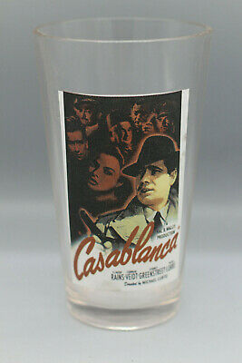 CASABLANCA Movie Poster Humphrey Bogart Beer 16 oz Shaker Pint Glass