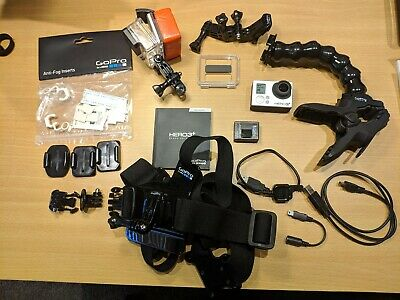 GoPro HERO3+ Black Edition w/ LOTS of accessories + mounts (chesty, jaws, surf)