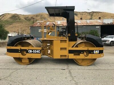 Cat Cb534C 10 Ton Roller, 2900 Hours Very Clean Ex California City Since New