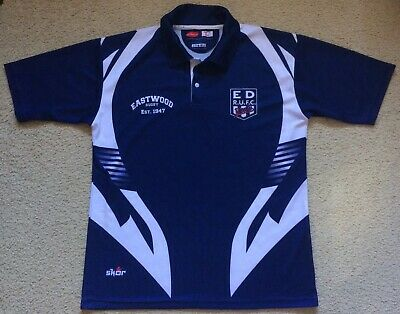 EDRUFC Eastwood District Rugby Union Training Polo Shirt Jersey - Mens XL - VGC