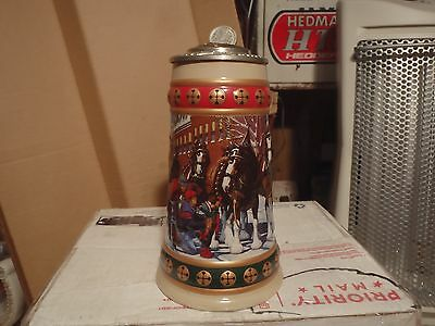 1993 Holiday Lidded Signature Edition  Budweiser  Beer Steins