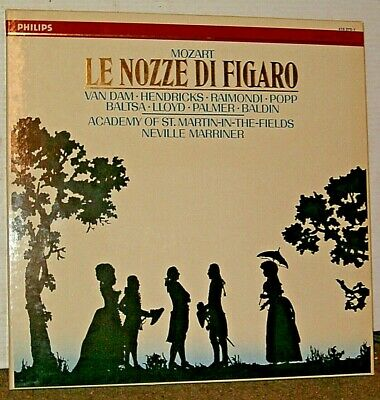 Mozart Le Nozze Di Figaro -  The Academy Of St. Martin-in-the-Fields,  Marriner