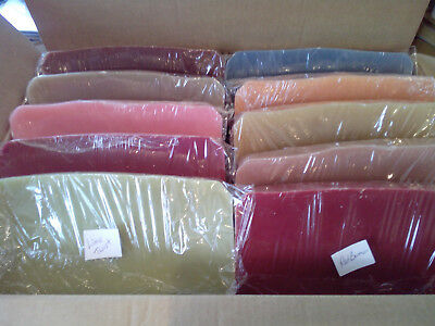 13 kg Candle Wax Mixed DARK COLOURS  Lightly Scented to make your own candles.