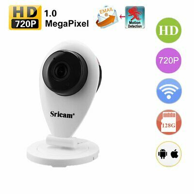 Wireless IP Camera 1080P WiFi Home Security CCTV Motion Detection Night Vision E