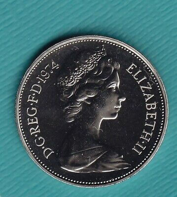 1974 10p Ten Pence Coin Proof - From Royal Mint Set (TP74)