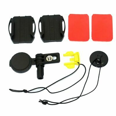 1Set Adjustable Curved Adhesive Side Helmet Mount for HDR-AS50R Action Cam