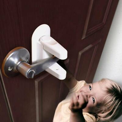 1pc Door Lever Lock For Baby Safety Handle LockS Safety Baby Child Protection