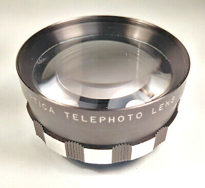 [VGC] Optica Telephoto Lens Zebra Tele Conversion Lens - Unknown Mount