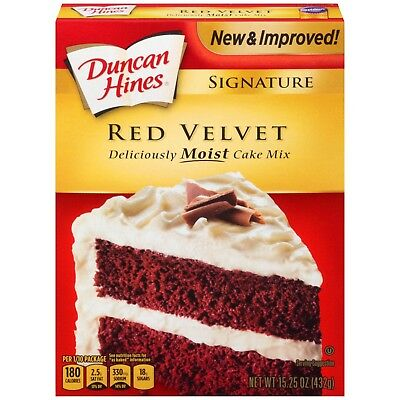Duncan Hines Red Velvet 15.25 oz