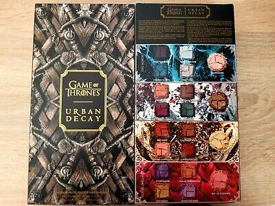 Urban Decay Game of Thrones Limited Edition Eyeshadow Palette NEW BOXED Genuine