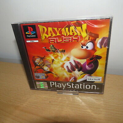 Rayman Rush - PS1 - Sony Playstation 1 - Black Label -  New & Sealed PAL VERSION