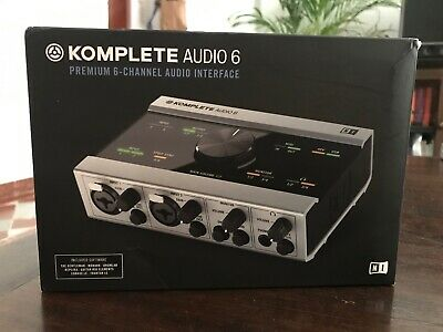 Native Instruments Komplete Audio 6 // USB Interface // + FREE Software Bundle