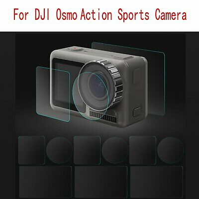 Screen & Lens Protective Film Set For DJI Osmo Action Sports Camera Accessories