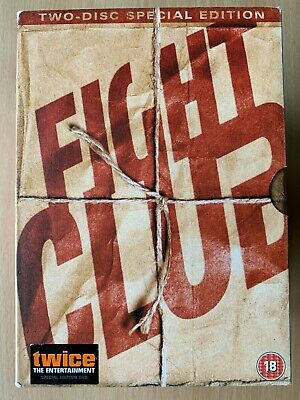Fight Club DVD 1999 Cut Film Movie Classic 2-Disc Special Edition w/ Slipcover