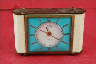 SMITHS EMPIRE ALARMETTE TRAVEL/MANTLE CLOCK, Metal , Spares and Repairs