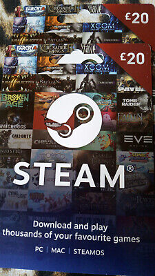 Gift Card 20£ Steam