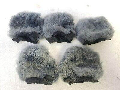 Lot Of 5 Original OEM Sony Furry Outdoor Microphone Windscreen Wind Muff