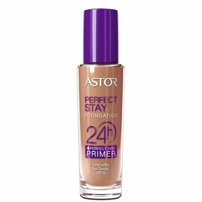 Astor Stay Perfect Foundation 24h + Perfect Skin Primer 203 Peachy 30ml
