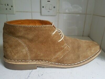 1af25dd2bdfb0 Next Size Uk 8 42 Mens Light Tan Chukka Leather Suede Chukka Desert Boots  Shoes