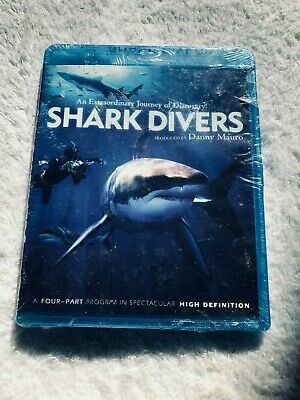 Shark Divers (Blu-ray Disc,)  Brand New