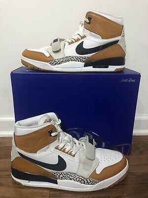 big sale a4cd9 66826 Nike Air Jordan Legacy 312 NRG Just Don White Navy-Ginger AQ4160-140