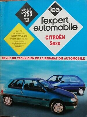 Revue technique CITROEN SAXO essence diesel  RTA EXPERT AUTOMOBILE 350 1997